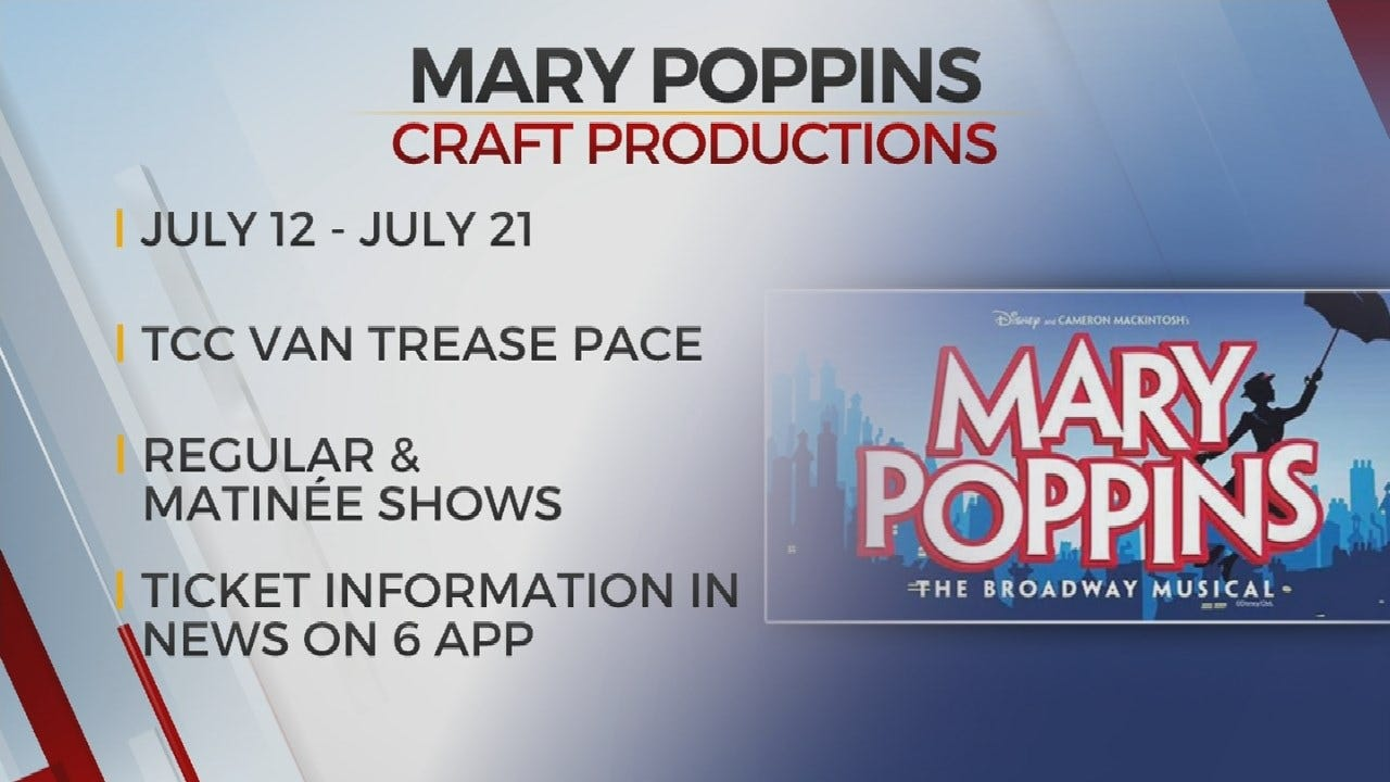 Mary Poppins Comes To TCC In Tulsa