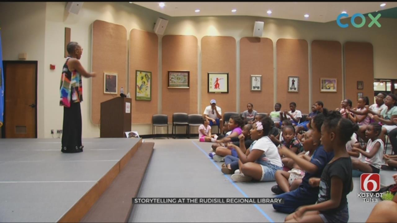 Tulsa Story Telling Festival Builds Imagination For Children