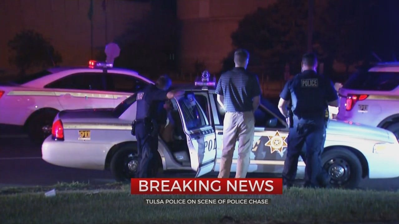 Man Arrested After Tulsa Chase, Says He Didn't Have Anything Better To Do