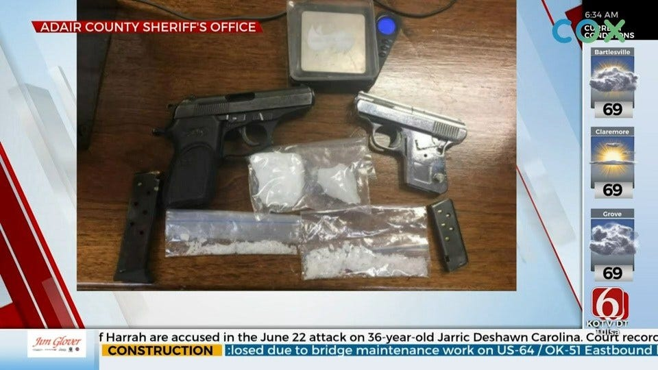 More Than 100 Grams Of Meth Found In 2 Adair County Drug Busts