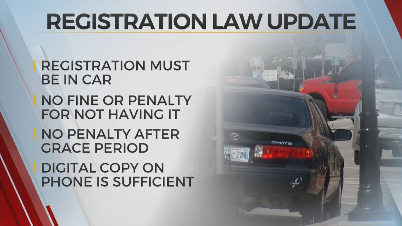 Update To Car Registration Law Allows Digital Copies, Grace Period