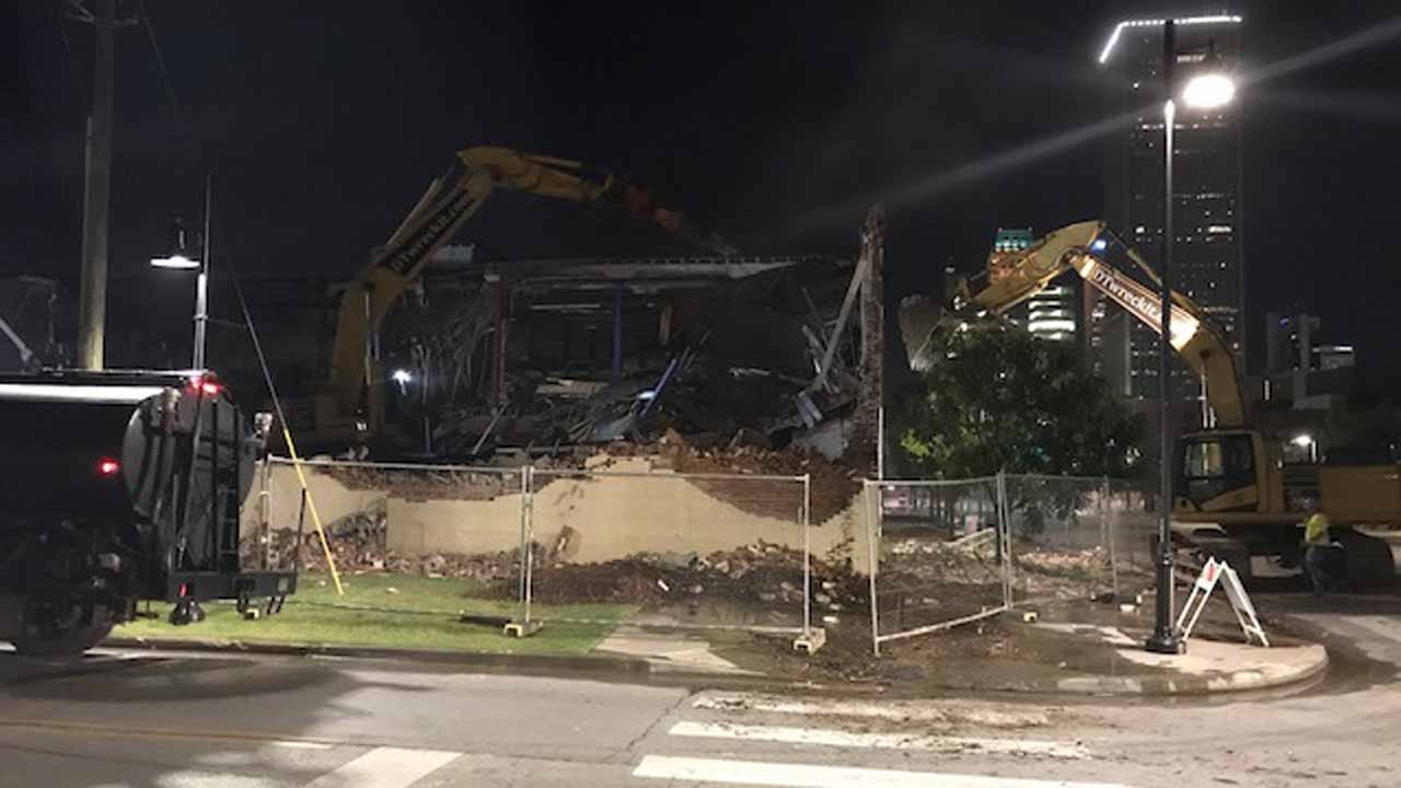 Tulsa Arts District Building Demolished For New WPX Energy Headquarters