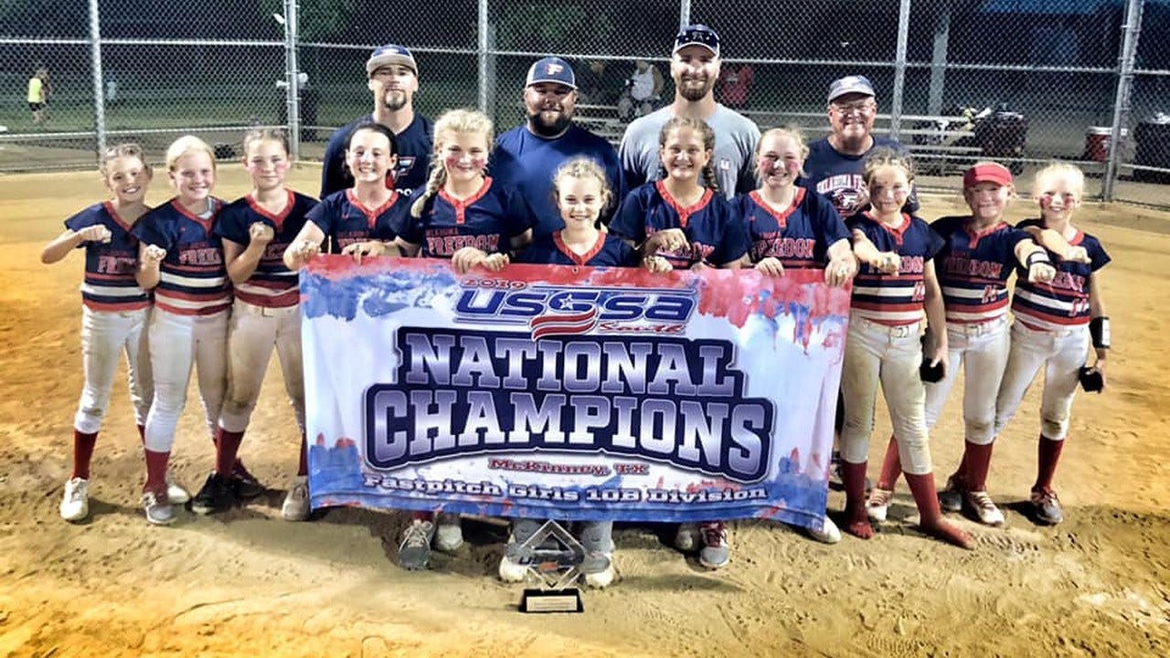 Oklahoma 10U Softball Team Takes National Championship