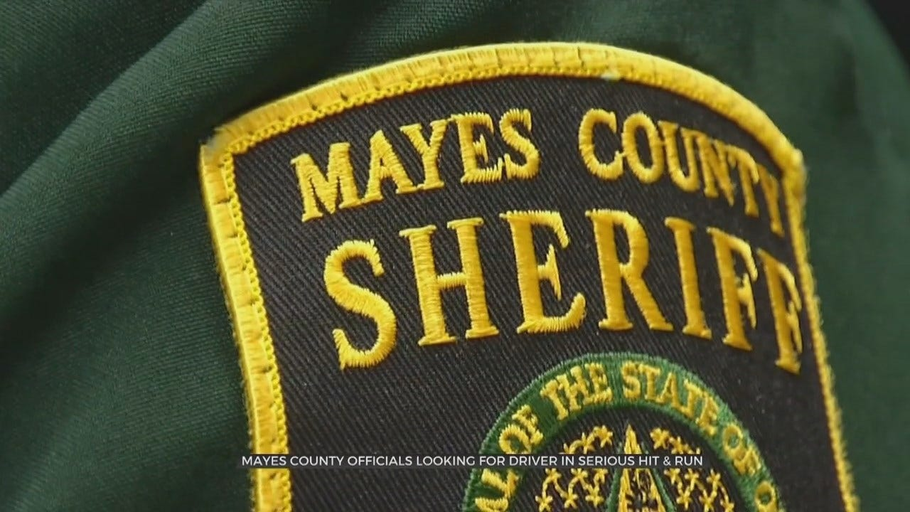 Mayes Co. Deputies Searching For Driver Involved In Hit & Run