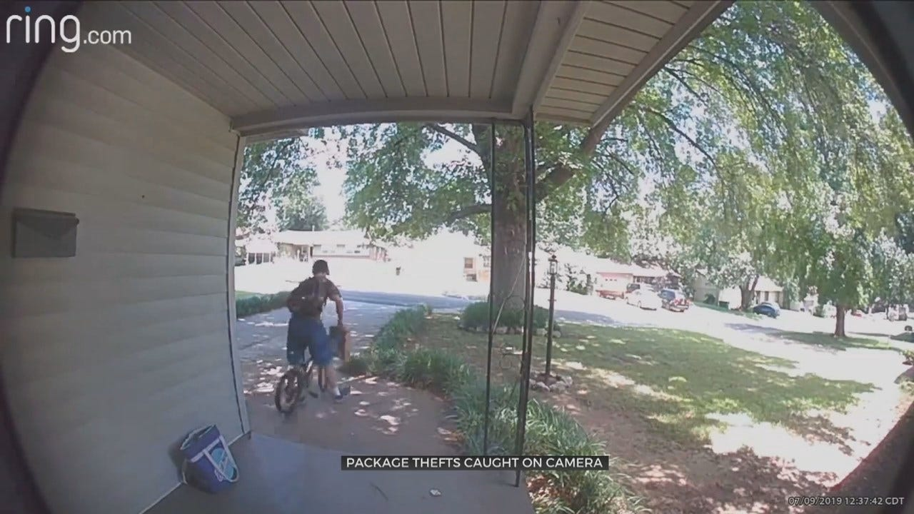 Tulsa Police Searching For Mail Thieves