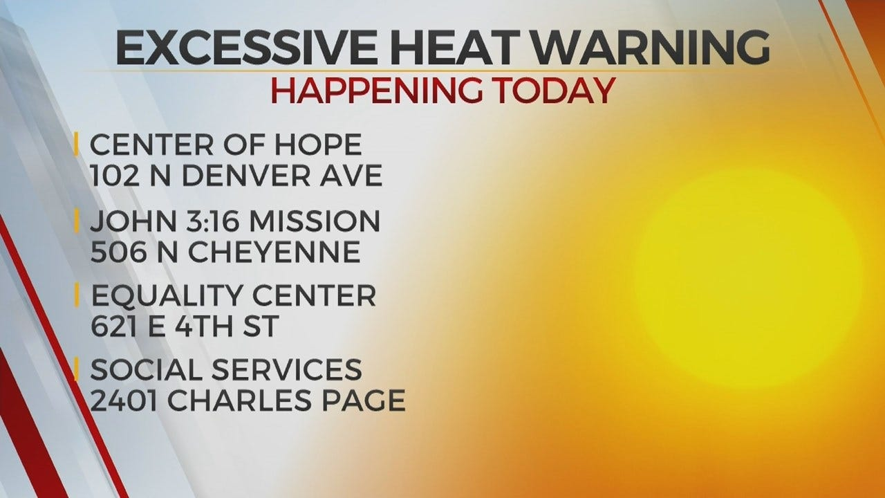 Multiple Tulsa Cooling Centers Open