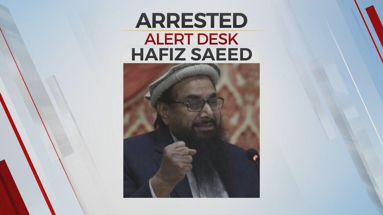 Pakistan Arrests U.S. Wanted Terror Suspect Blamed For 2008 Mumbai Attacks