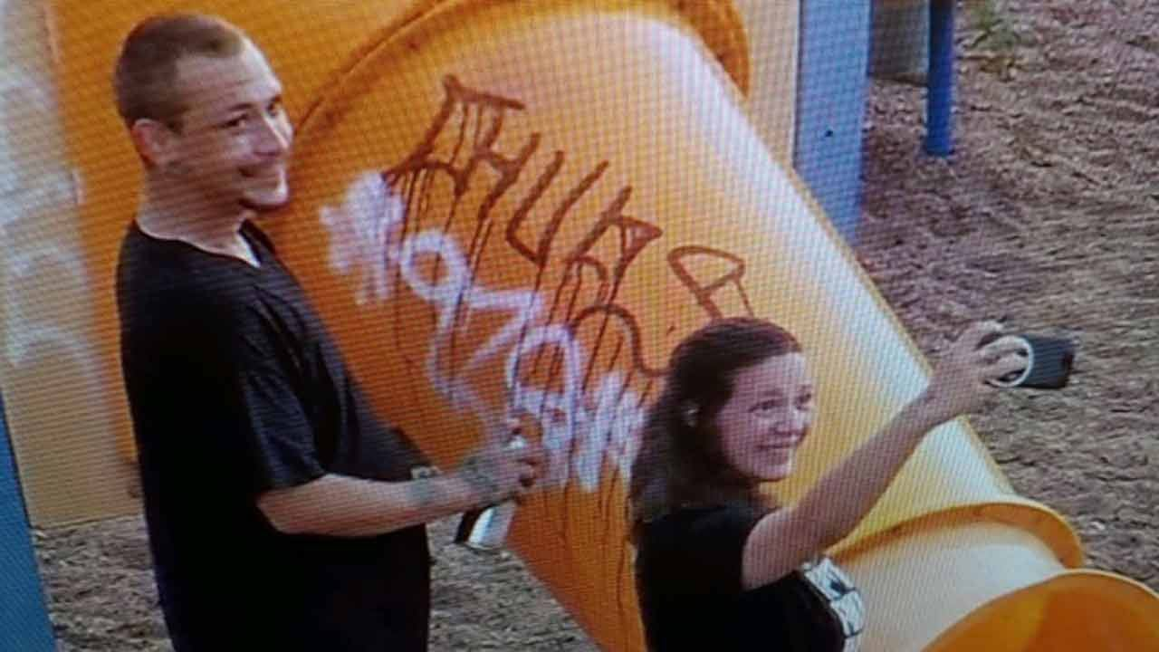 Sand Springs Police Searching For 'Selfie Vandals'