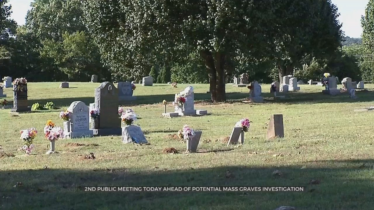City Of Tulsa Holding Meeting About Possible Mass Graves From 1921 Tulsa Race Massacre