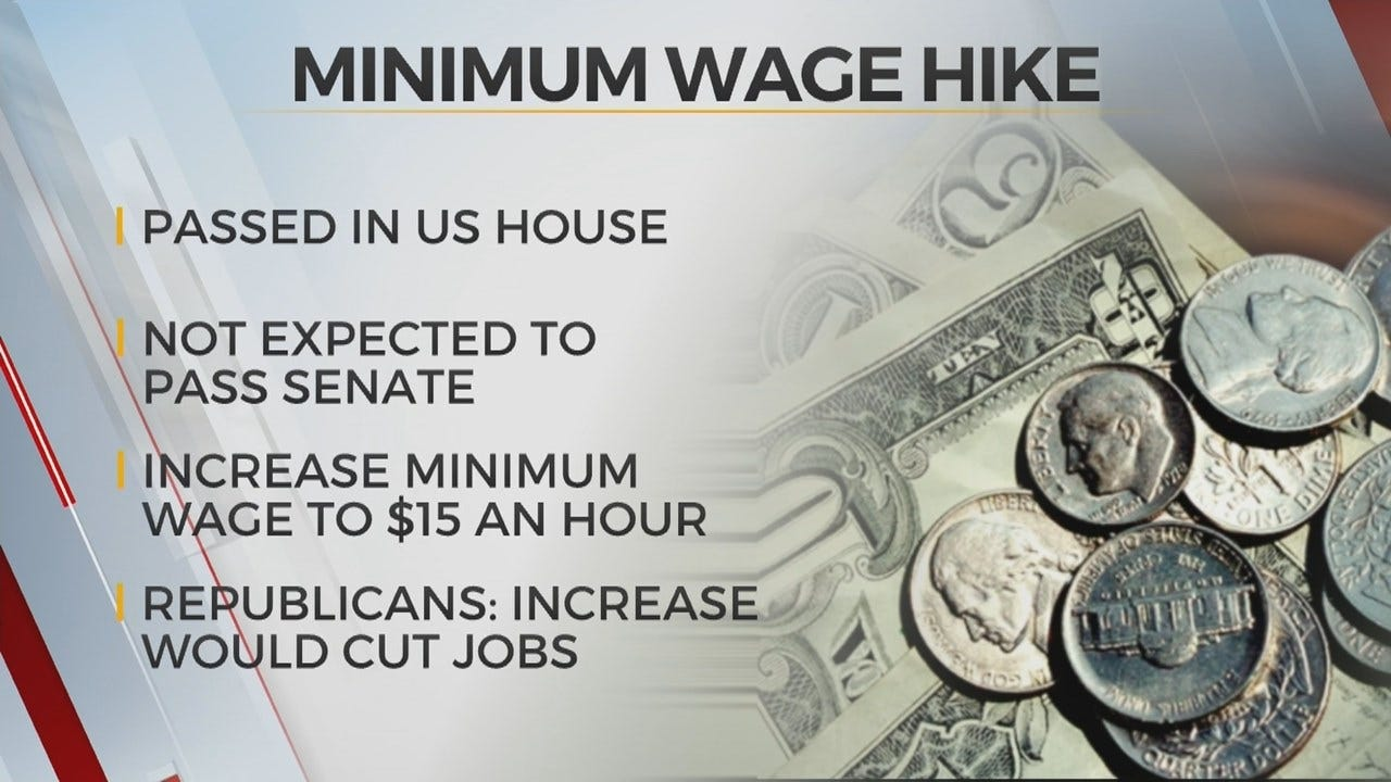 House Approves $15 Minimum Wage For Workers