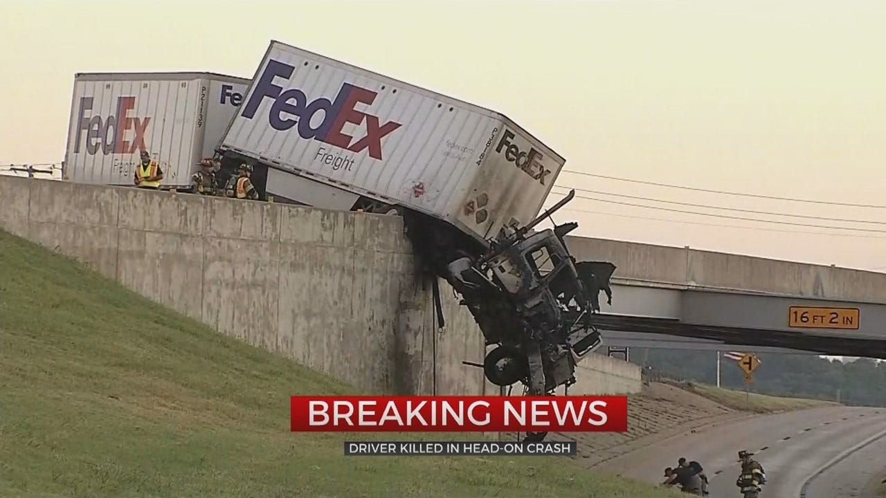 Sapulpa Police Identify Man Killed In Wrong-Way Wreck With FedEx Truck