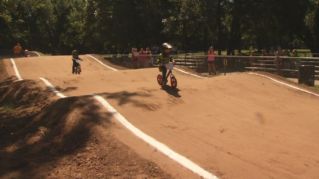 Sand Springs BMX Re-opens After Flooding