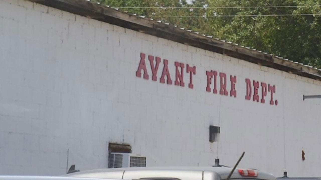 Motorcycle Group Helps Avant Fire Department Impacted By Flooding