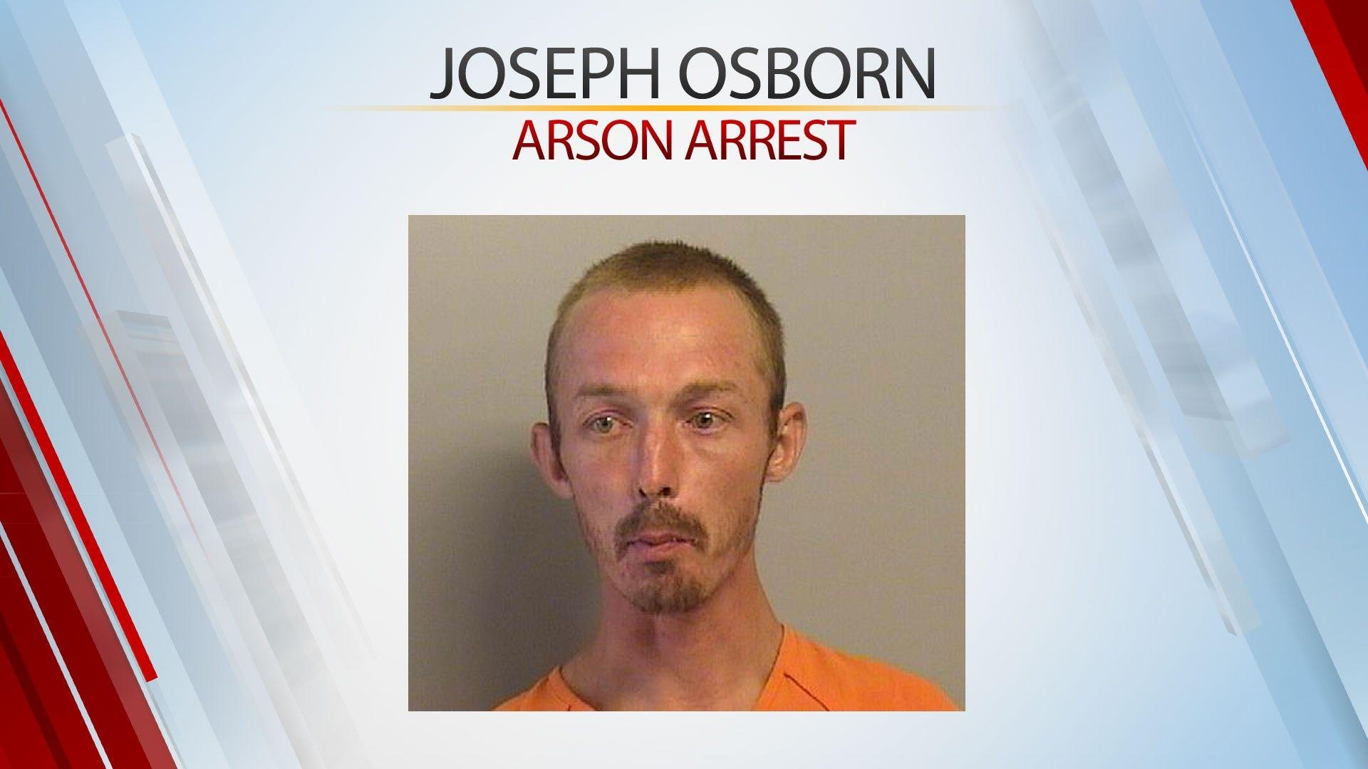 Tulsa Man Arrested On Complaints Of Arson, Endangering Human Life