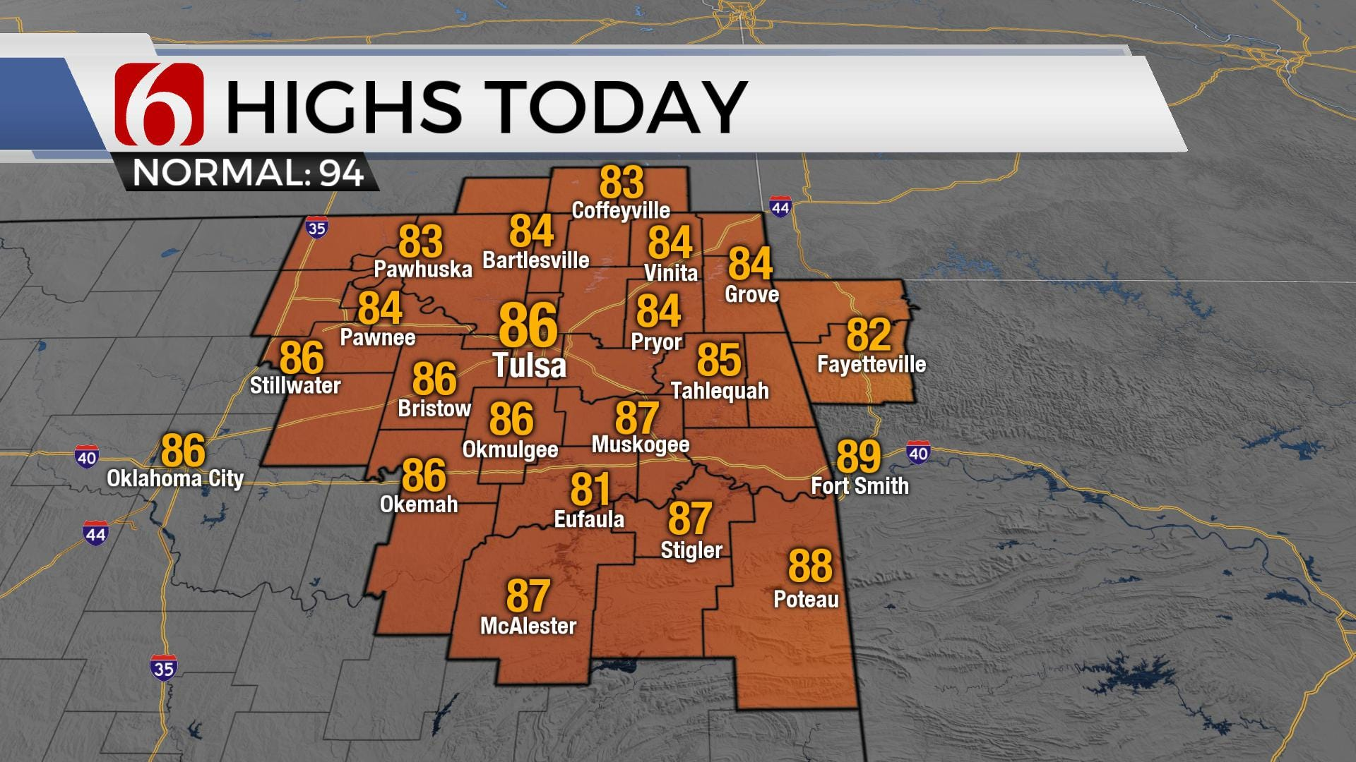 Monday Morning Weather Blog: A Break From The Heat