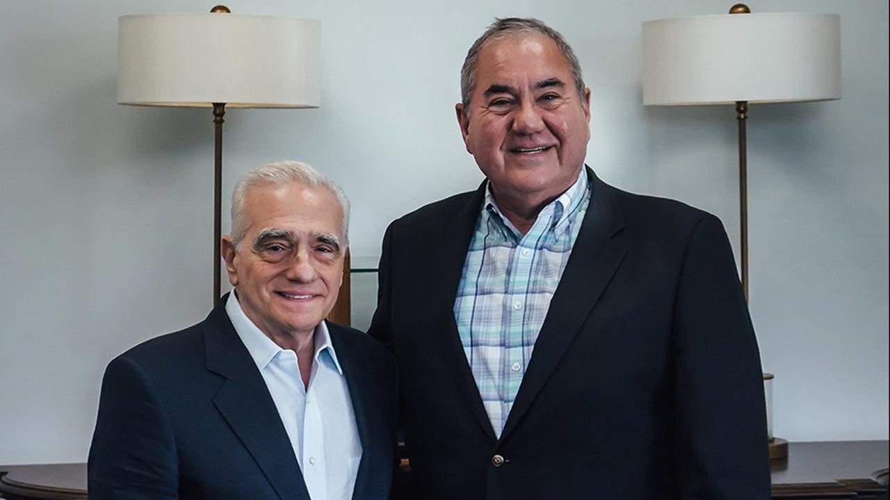 Hollywood Director Martin Scorsese Visits Oklahoma