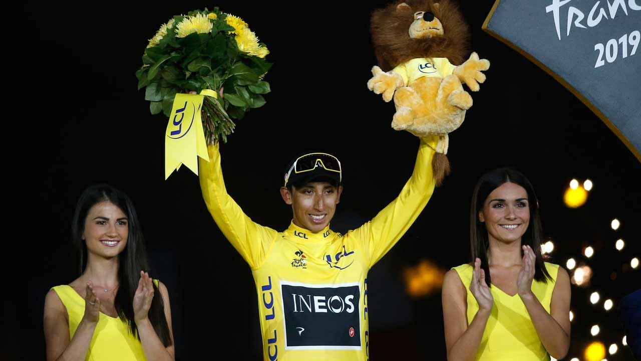 22-Year-Old Egan Bernal Of Colombia Wins Tour De France