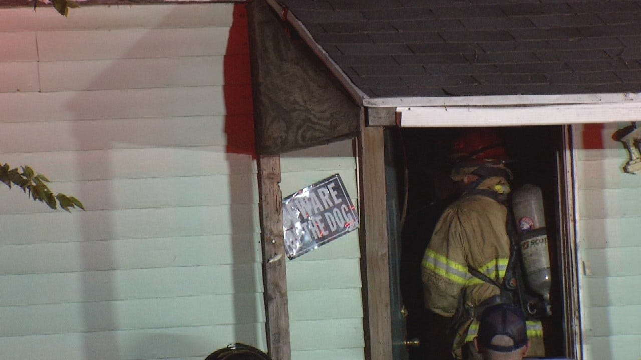 Dog Killed In Early Morning House Fire In Tulsa
