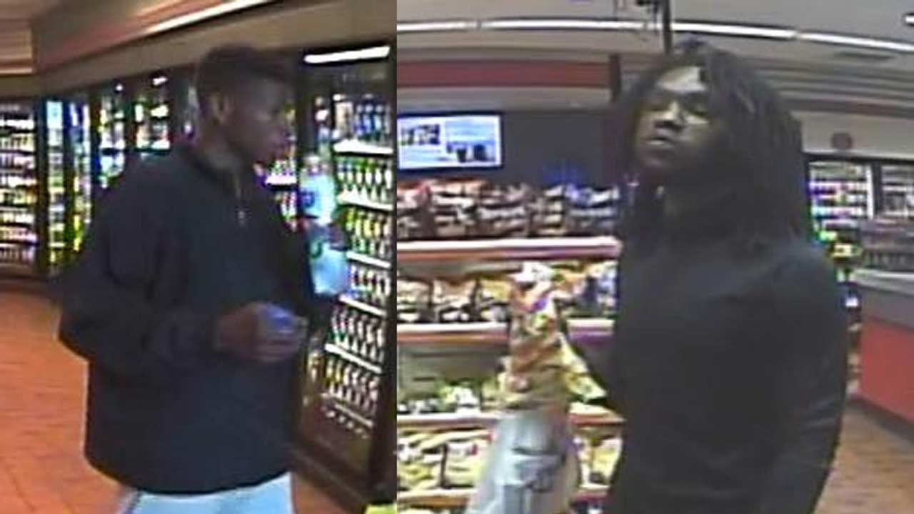 Owasso PD Searching For 2 Suspects In Stolen Credit Card Case