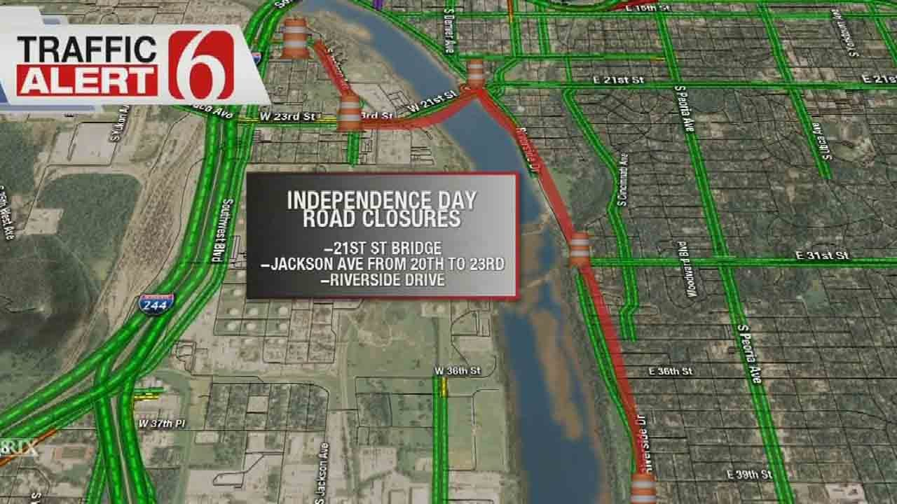 Tulsa Roads Closing For Folds Of Honor FreedomFest