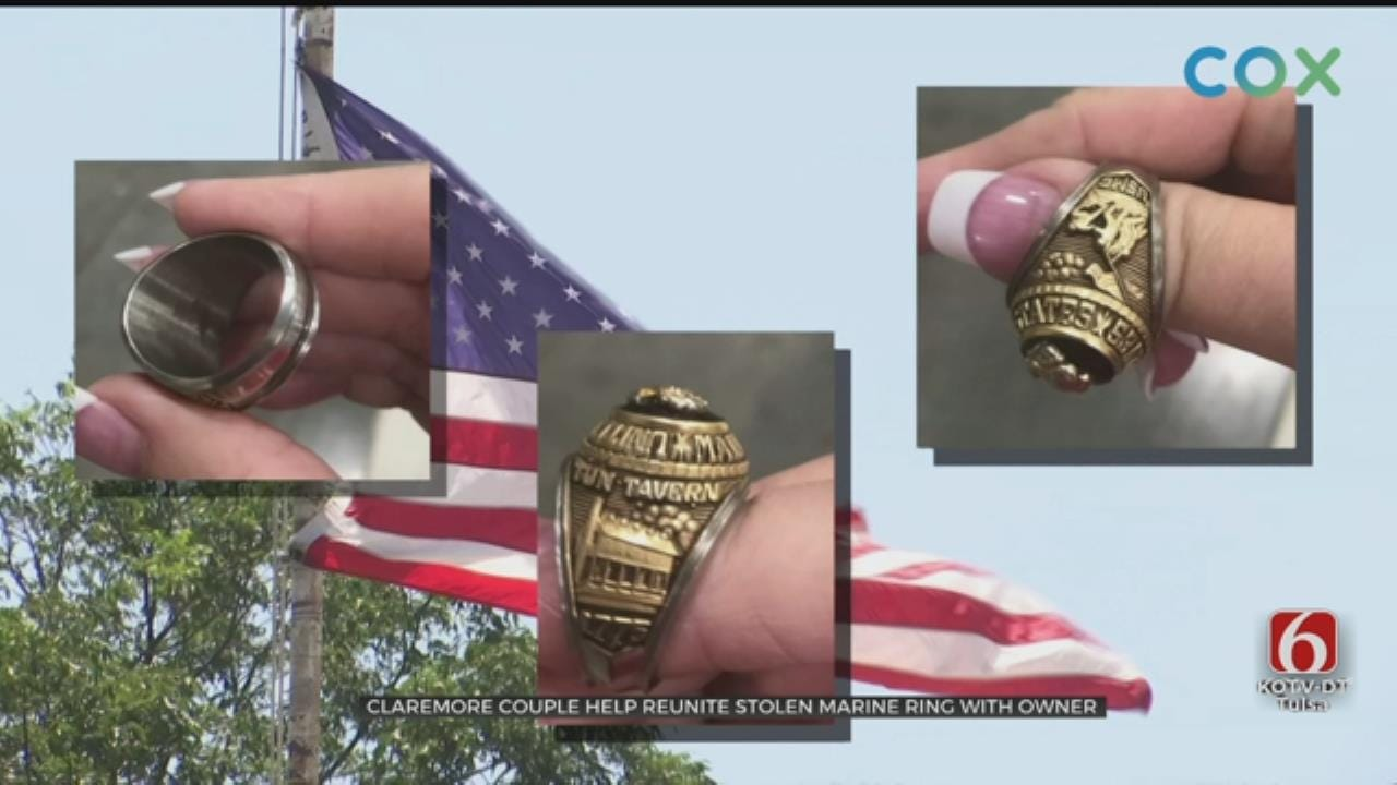 Couple Returns Ring To Rightful Owner After A Rogers Co. Auction