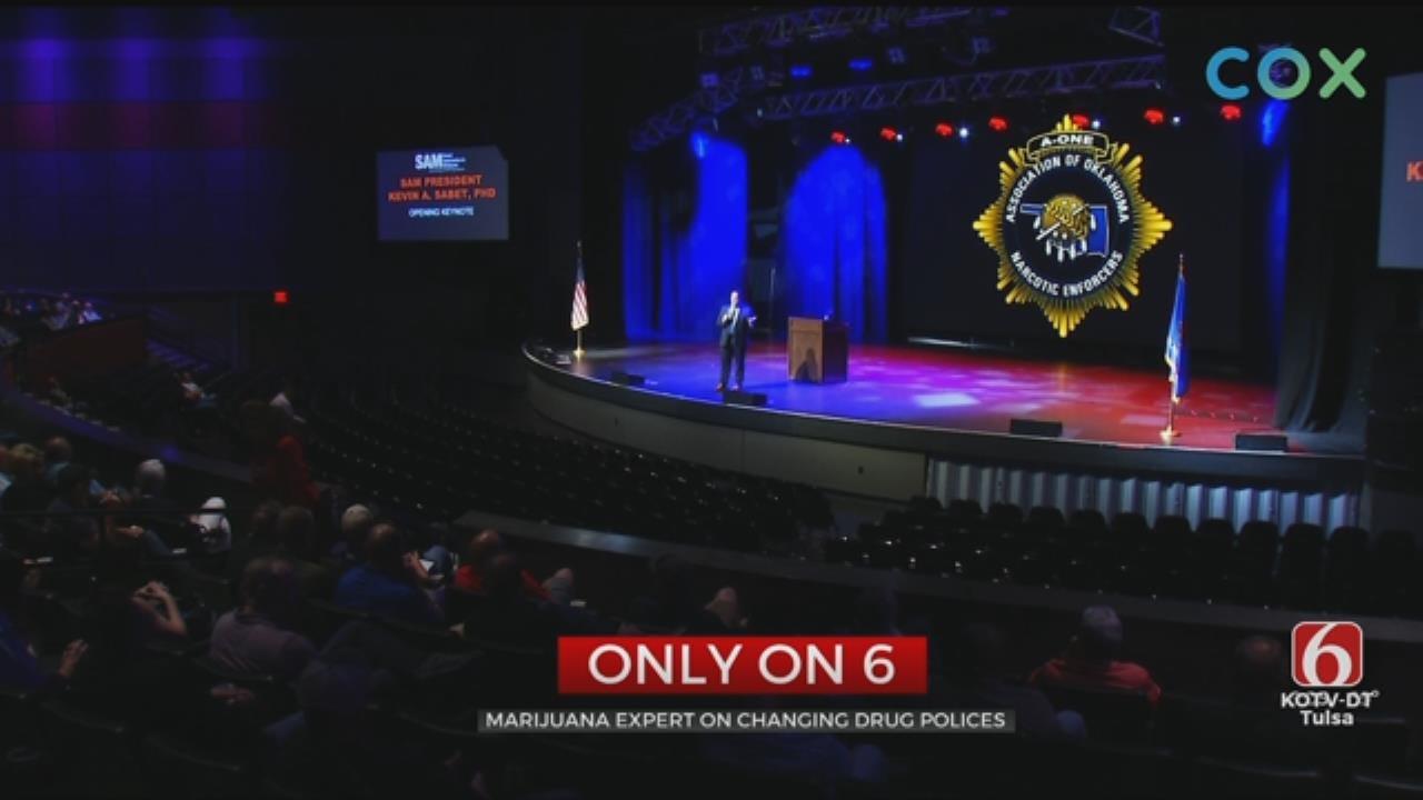 Marijuana Expert Talks About Drug Training For Oklahoma Police
