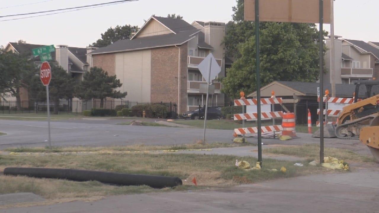 Part Of Peoria Closed For Tulsa Rapid Transit Construction