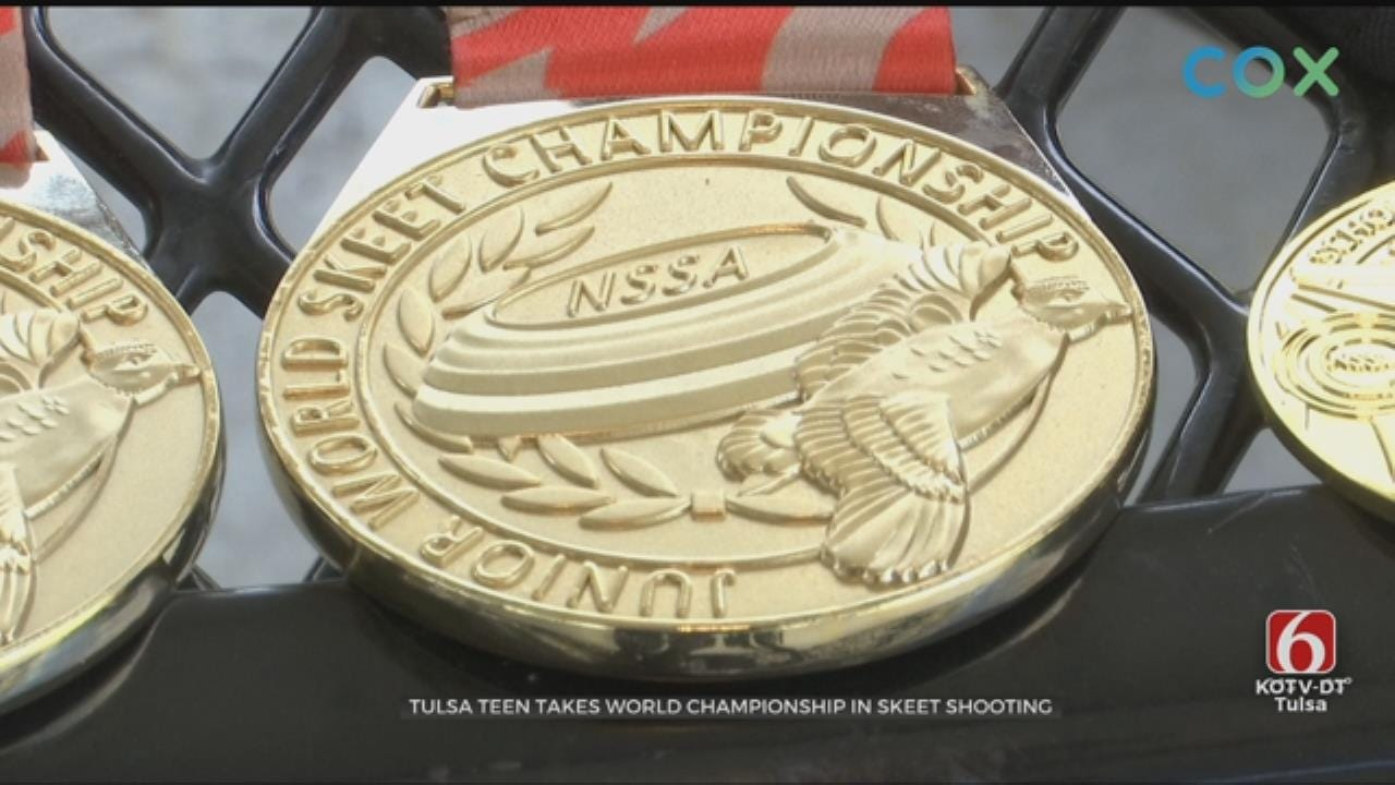 14-Year-Old From Jenks Takes Skeet Shooting World Championship