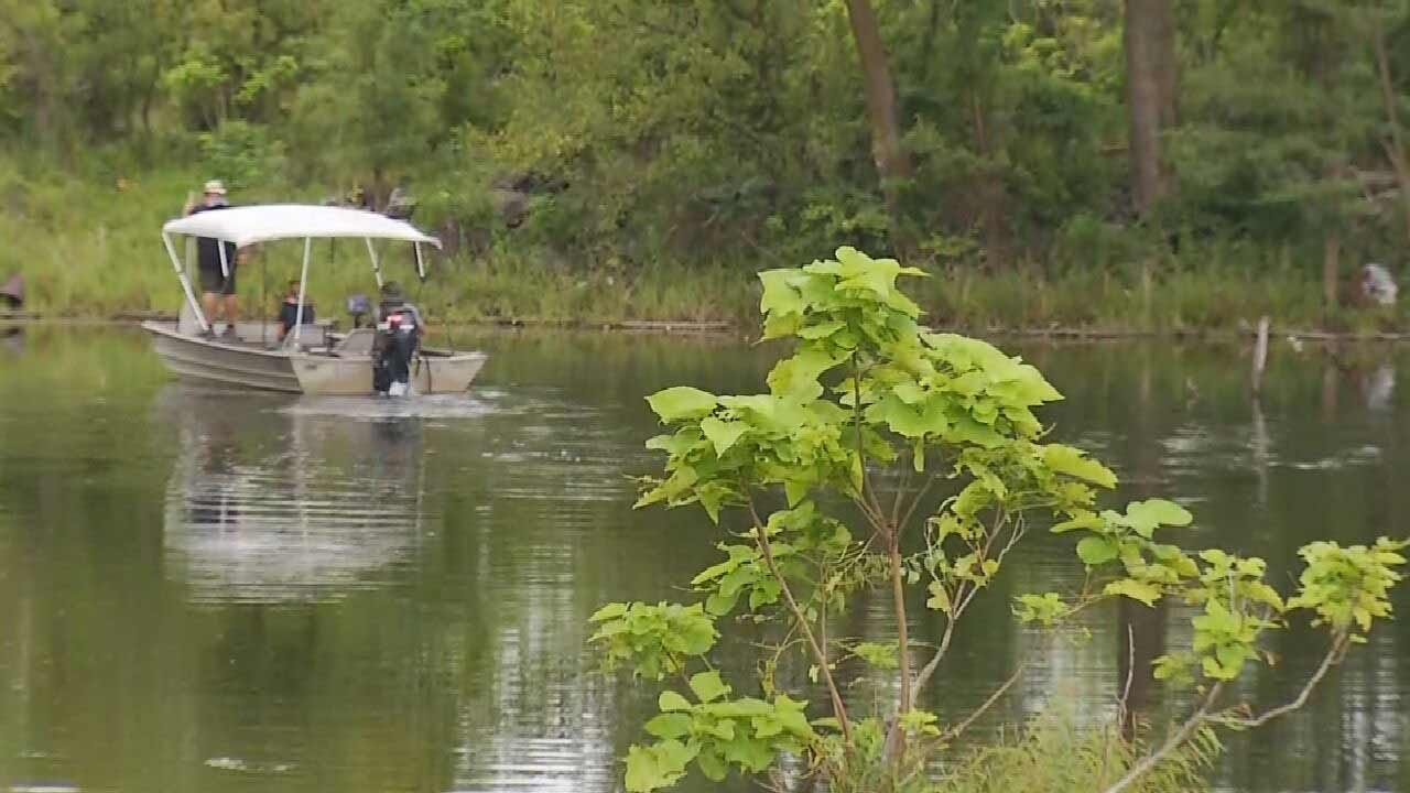 Detectives Search Pond For Remains Of Welch Girls Kidnapped In 1999