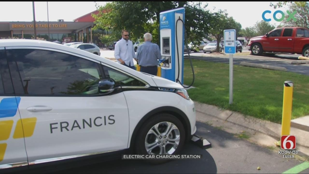 Tulsa To See More Electric Car Charging Stations