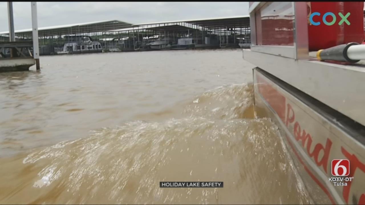 Flood Waters Keep Keystone Lake Boat Ramps Closed During 4th Of July Weekend