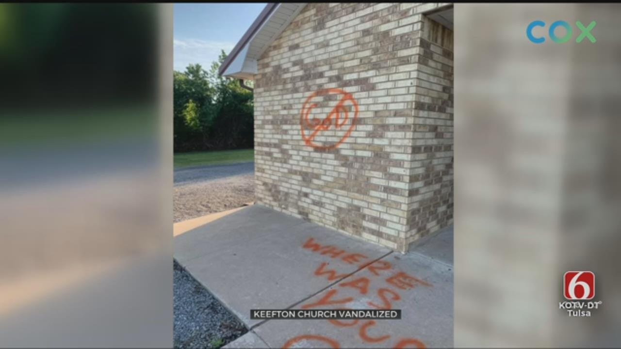 Muskogee Co. Pastor Asking For Help In Identifying Church Vandal