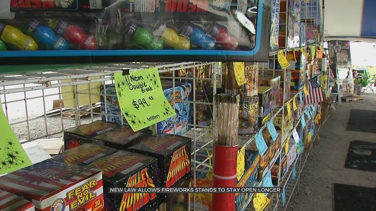 Oklahoma's New Fireworks Law Benefits Soccer Club