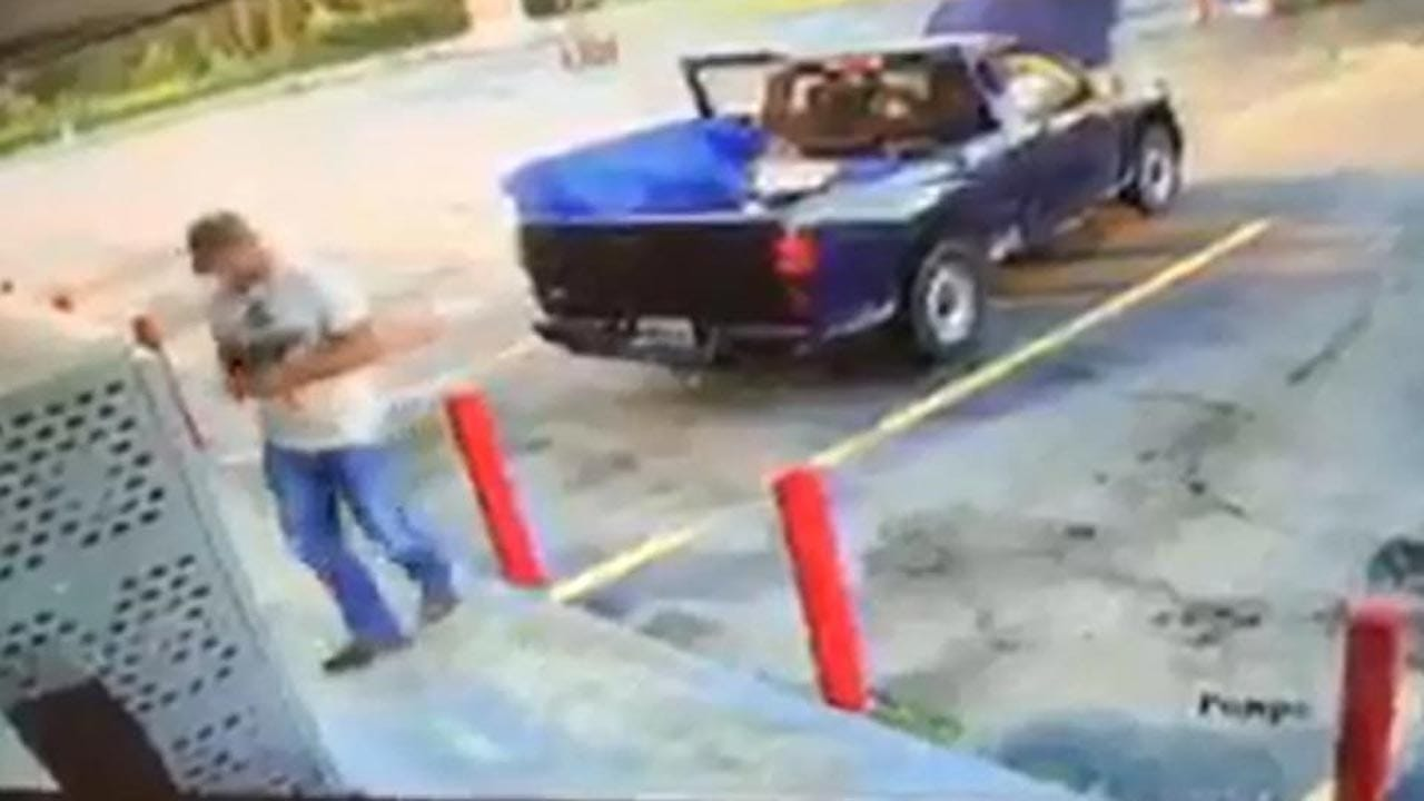 Man Spotted Stealing Propane From Store In Sand Springs