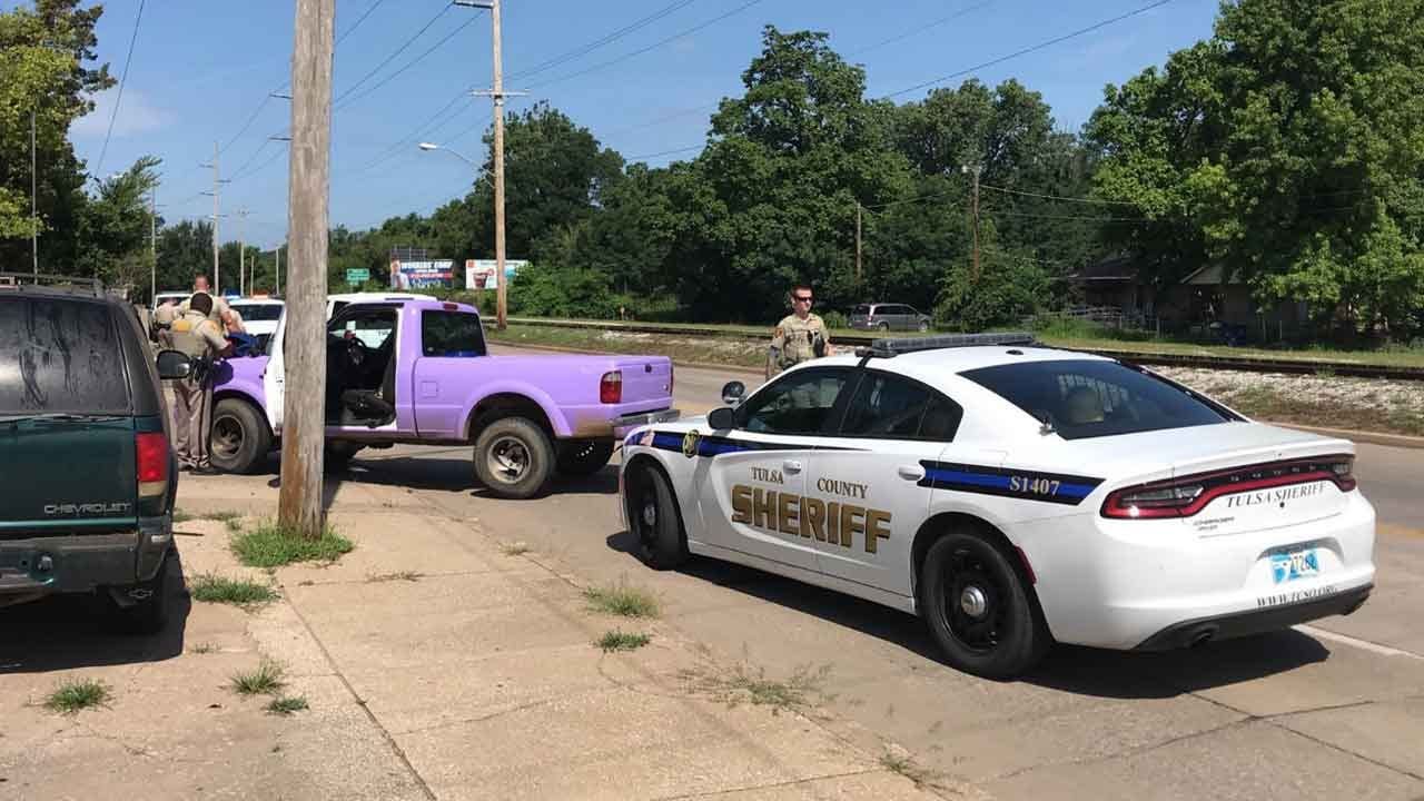 Escaped Inmate Captured After Pursuit With Tulsa County Deputies