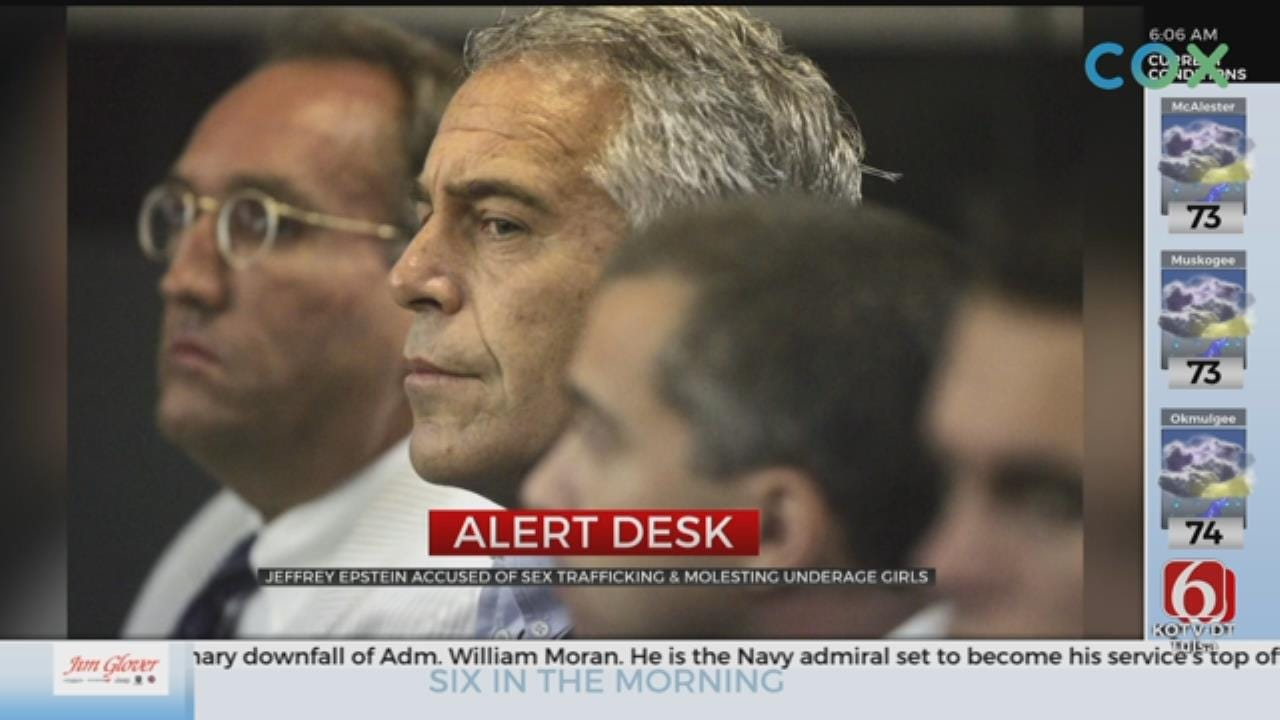 Jeffrey Epstein Arrested In New York On Charges Related To Sex Trafficking