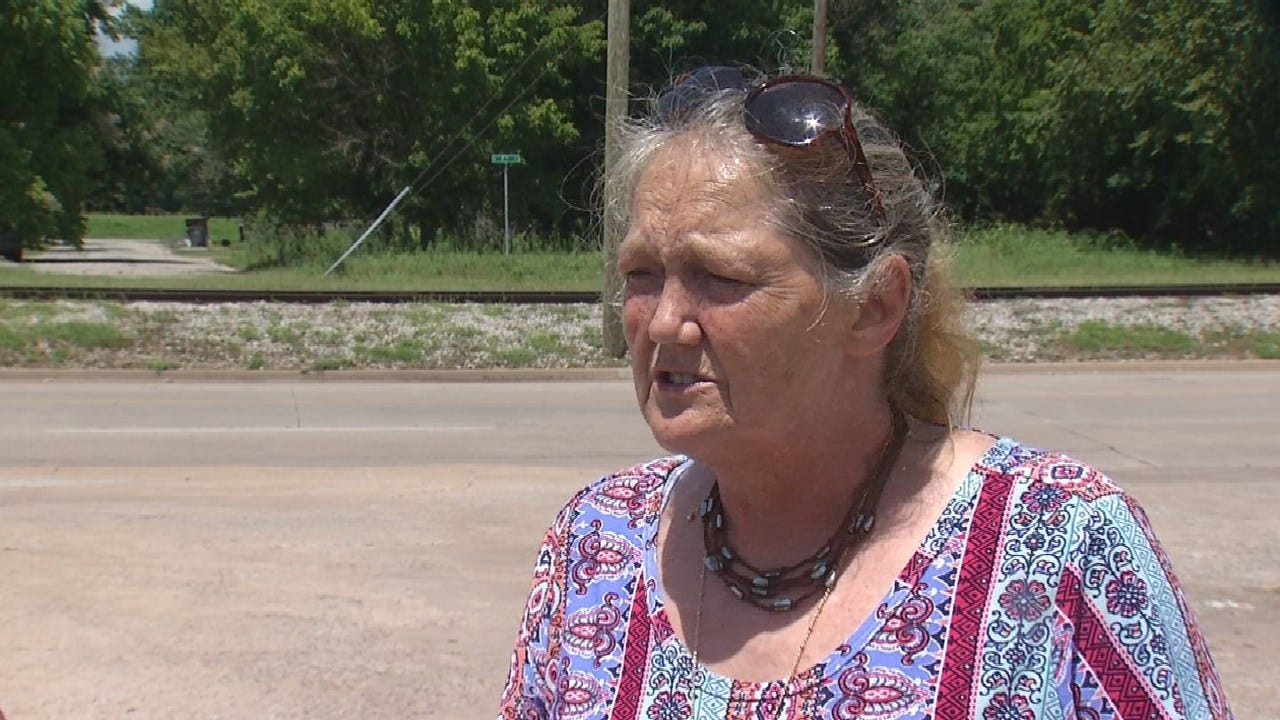 Sand Springs Woman Stands By Daughter After Break-In