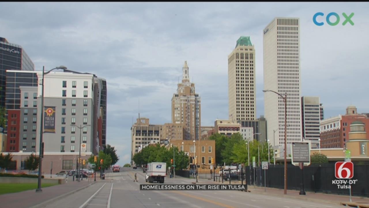 Tulsa Homeless Count Up 10 Percent