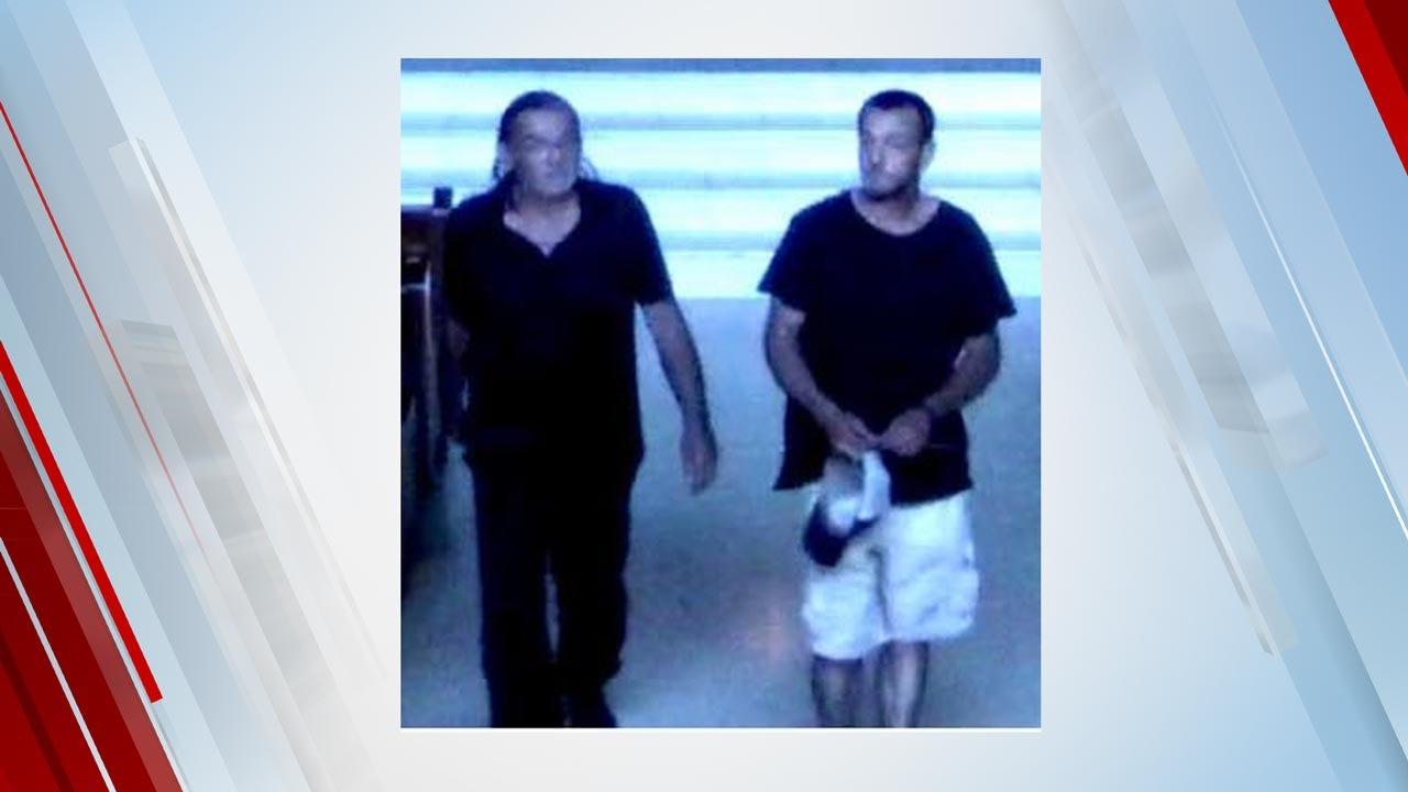 2 Men Sought For Theft From Broken Arrow Church