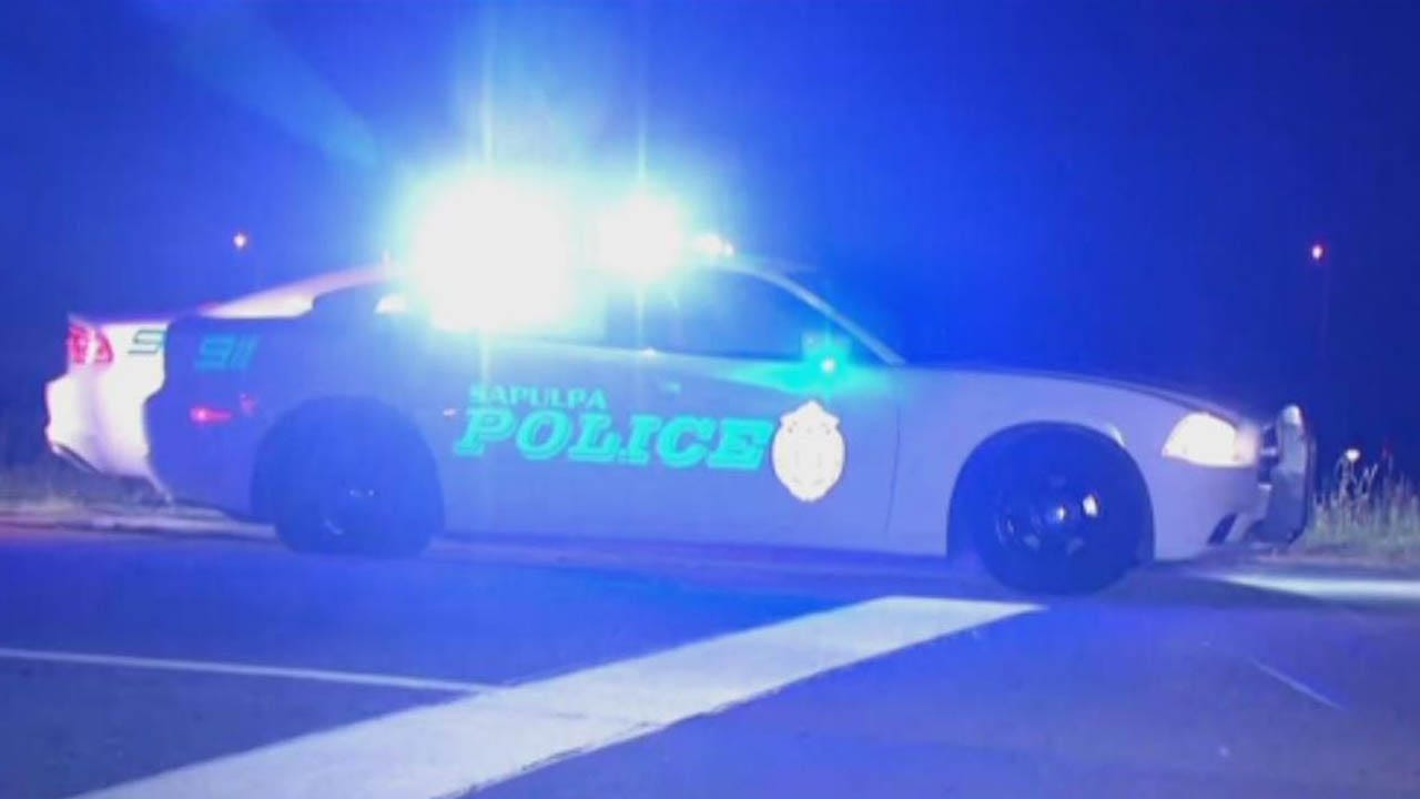 2 People In Custody After Chase Ends Near Creek Turnpike