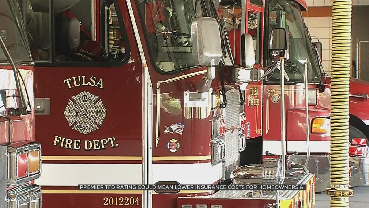 Fire Crews Respond To Gas Tank Rupture In Tulsa