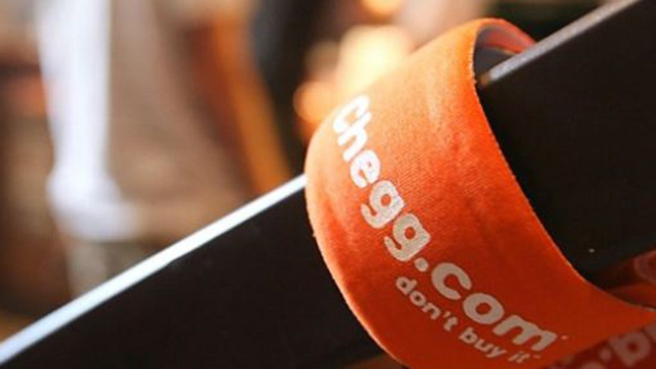 Chegg Offers Workers Company Stock To Pay Off Student Loans