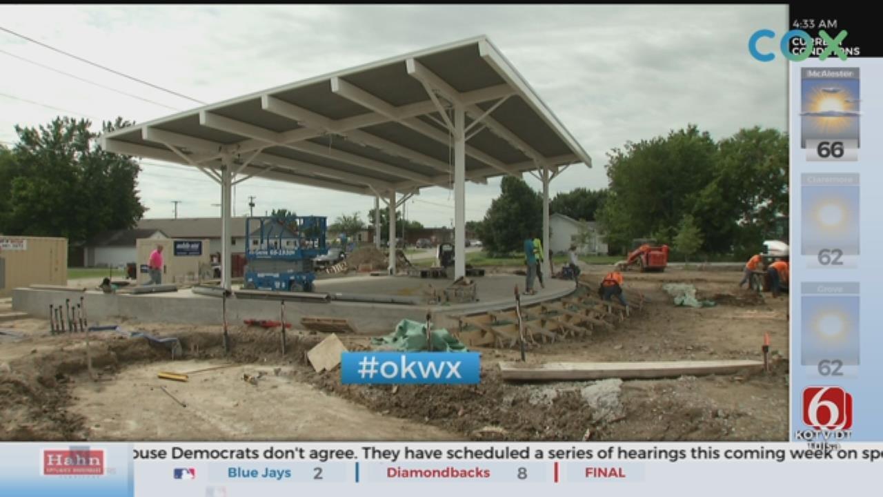 Wet Weather Impacts Construction Of Owasso Park