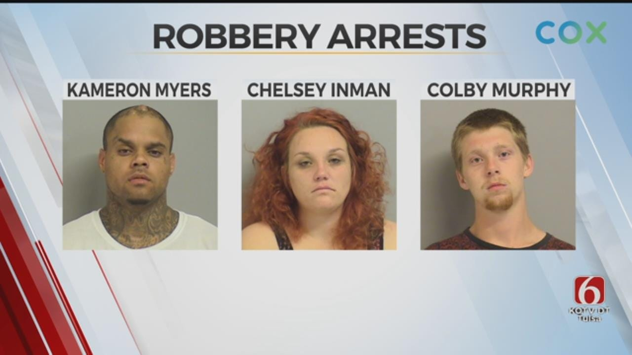 3 Tulsa Suspects Arrested, Accused Of Robbery, Kidnapping