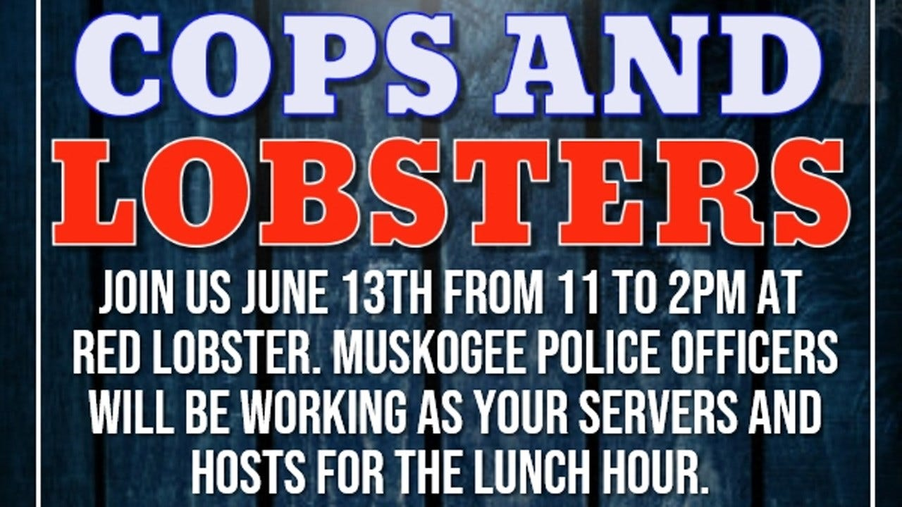 Muskogee Police Will Hold Event For Special Olympics At Red Lobster