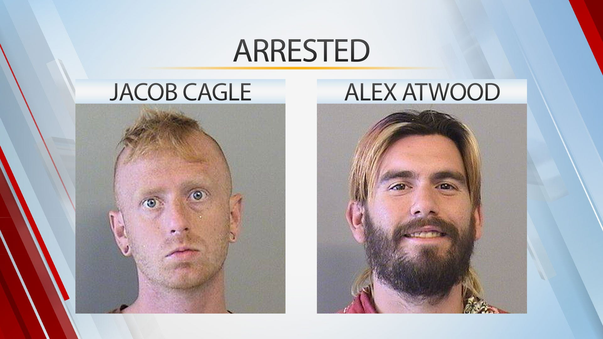 Two Arrested After Vandalizing Tulsa Houses, Businesses, Police Say