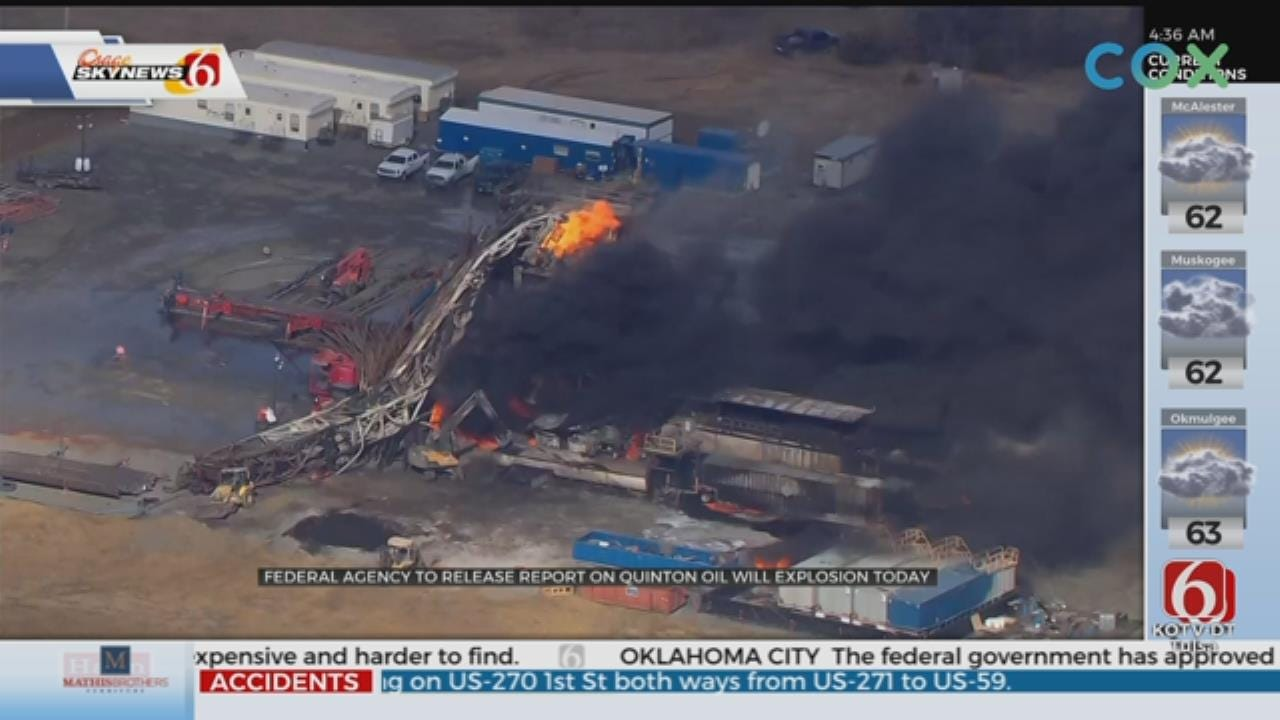 Federal Agency: Safeguards Failed In Quinton Well Explosion That Killed 5