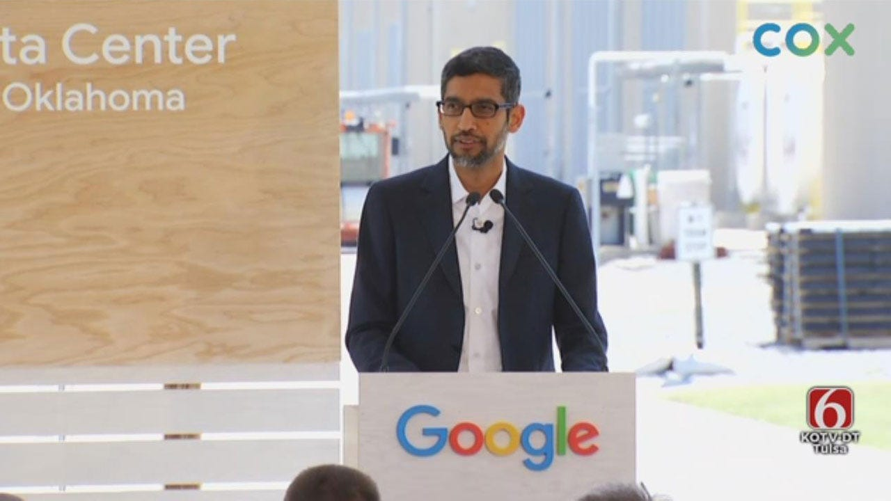Google Announces New $600 Million Investment In Pryor Facility