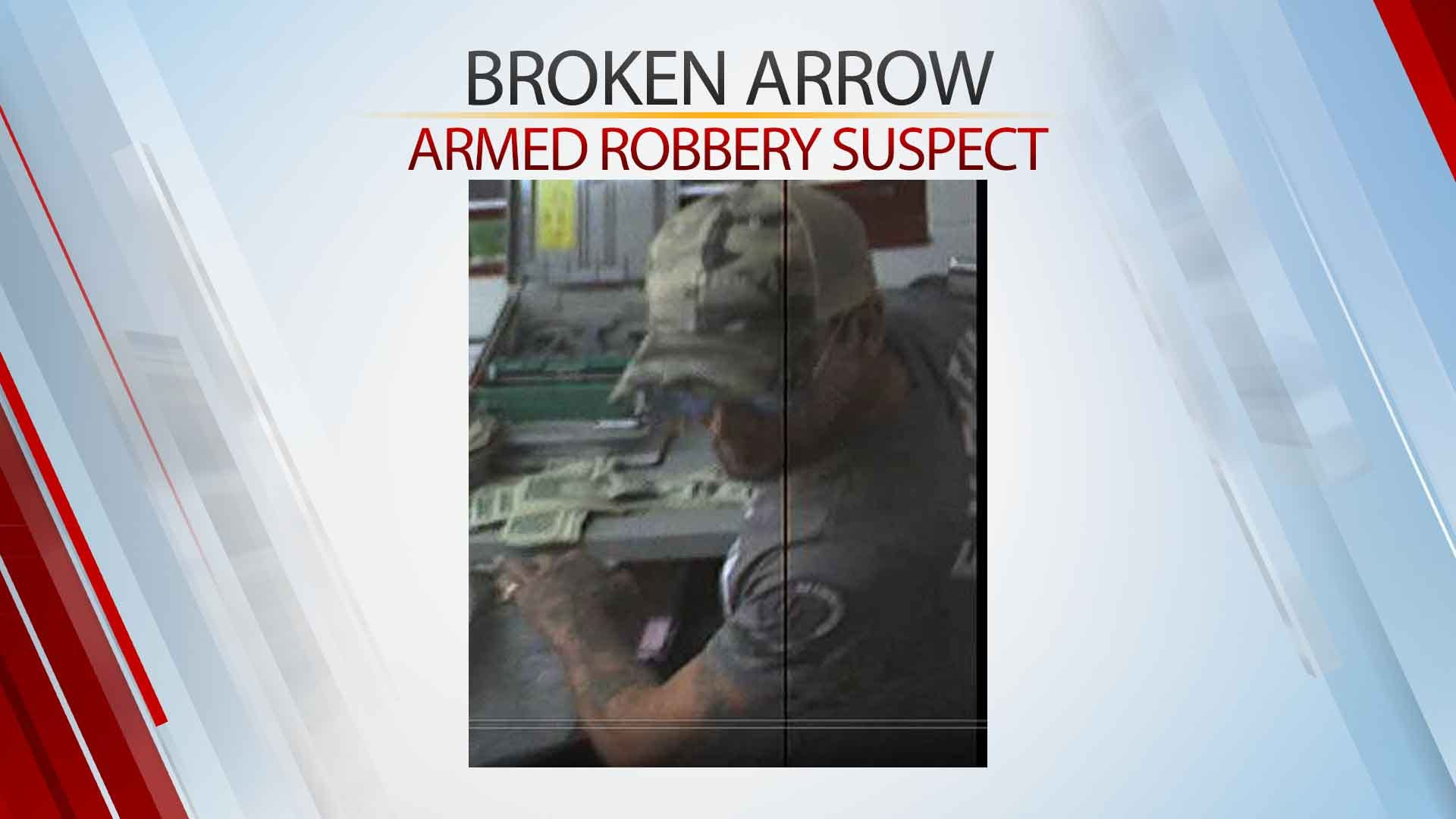 Broken Arrow Police Search For Armed Robbery Suspect