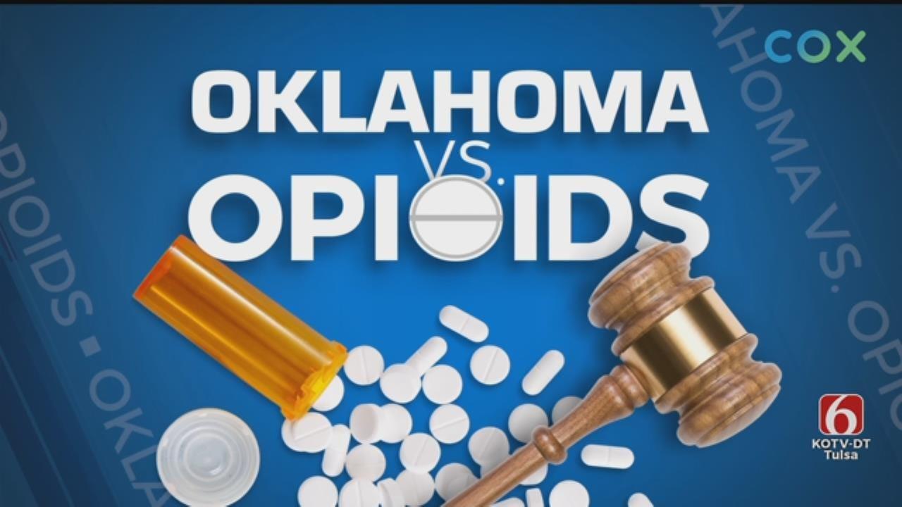 Doctor Defends Pharma Companies In Oklahoma Opioid Trial